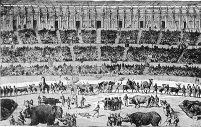 A Roman Circus Art Print by Hulton Archive