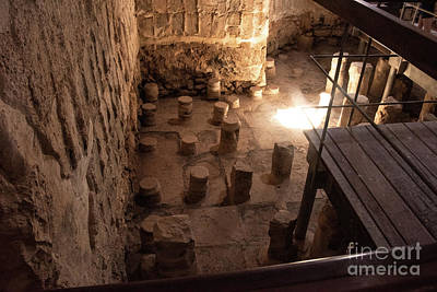 Photograph - A Room Inside Masada by Mae Wertz