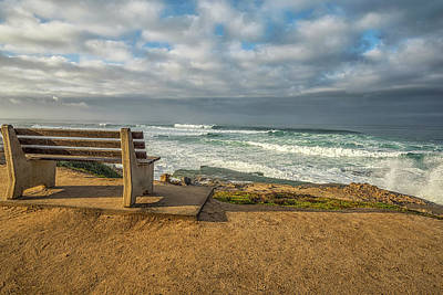 Photograph - A Seat To Winter Surf by Joseph S Giacalone