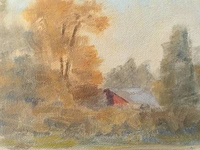 Painting - A Sentiment For Fall by Curtis Green