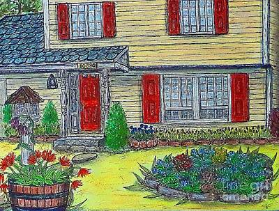 Painting - A Sister's Cottage by Kim Jones