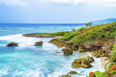Photograph - A Slice Of Saint Mary Jamaica by Debbie Ann Powell