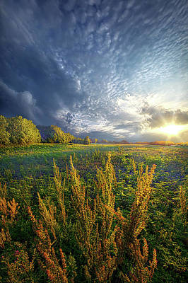 Photograph - A Slight Chance Of Storms by Phil Koch
