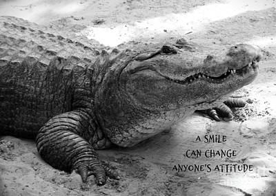 Photograph - A Smile Can Change Anyone's Attitude by Carol Groenen