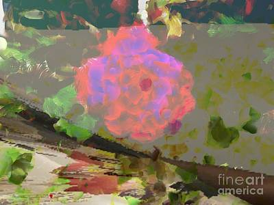 Painting - A Splash Of Color Floral by Catherine Lott