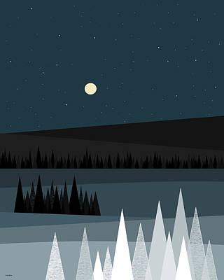 Digital Art - A Star Studded Sky by Val Arie