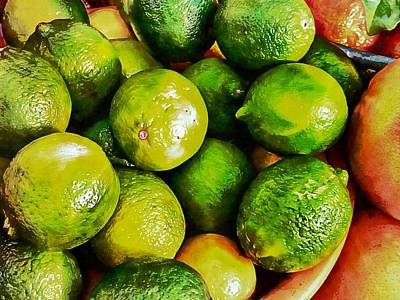 Photograph - A Study In Limes by Dorothy Berry-Lound