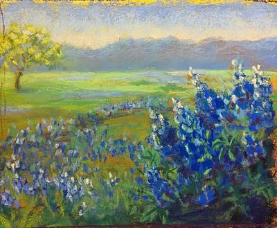 Pastel - A Tale In Blue by Esther Jones