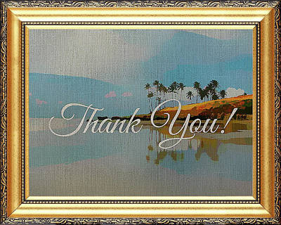 Mixed Media - A Thank You Gift by Clive Littin