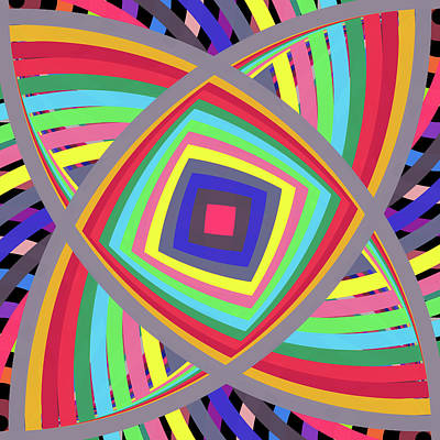 Digital Art - A To Z Centre by REVAD David Riley
