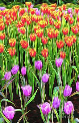 Painting - A Touch Of Spring by Ian Gledhill