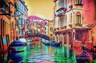 Photograph - A Venetian Kaleidoscope. by Brian Tarr