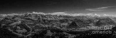 Erik Brede Rights Managed Images - A View from Rigi Royalty-Free Image by Erik Brede