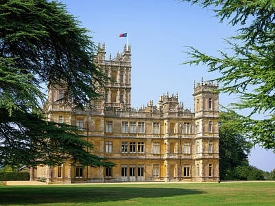 Photograph - A View Of Highclere Castle by Joe Winkler