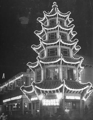Photograph - A View Showing The Exterior Of The Chine by Hansel Mieth