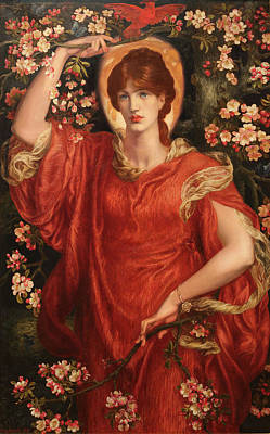 Painting - A Vision Of Fiammetta 1878 by Dante Gabriel Rossetti