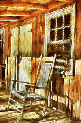 Painting - A Warm Place In The Sun Ap by Dan Carmichael