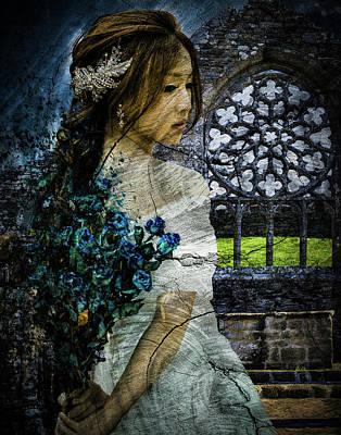 Digital Art - A Wedding Alone by Galatia420