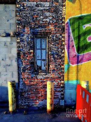 Photograph - A Window Set In Bricks by Walter Oliver Neal