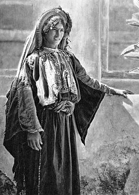 Photograph - A Woman From Ramallah by Munir Alawi