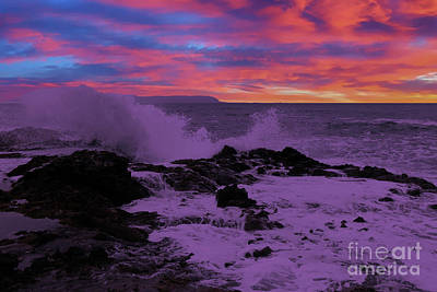 Royalty-Free and Rights-Managed Images - A wonderous rage at Cape Perpetua by Jeff Swan