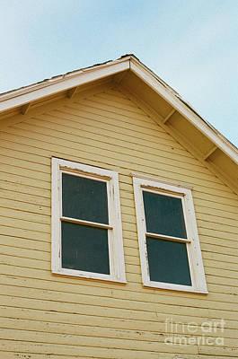 Photograph - A Yellow House by Ana V Ramirez