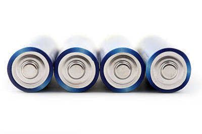 Photograph - Aa Batteries by Fabrizio Troiani