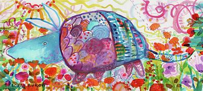 Painting - Aardvark #2 by Deborah Burow