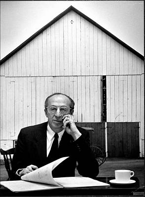 Photograph - Aaron Copland by Gordon Parks