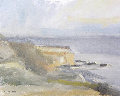 Painting - Abalone Cove by Curtis Green