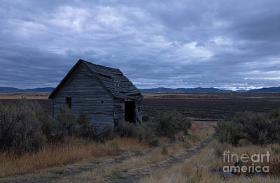 Photograph - Abandoned And Blue by Idaho Scenic Images Linda Lantzy