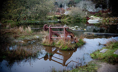 Photograph - Abandoned And Disused I by Helen Northcott