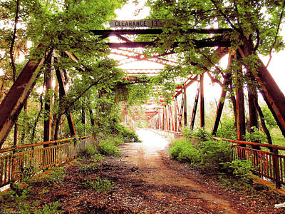 All You Need Is Love - Abandoned Bridge by Gina Welch