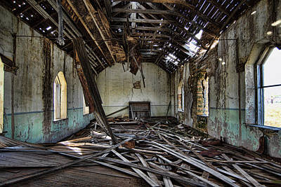 Photograph - Abandoned Church #1 by Ron Weathers