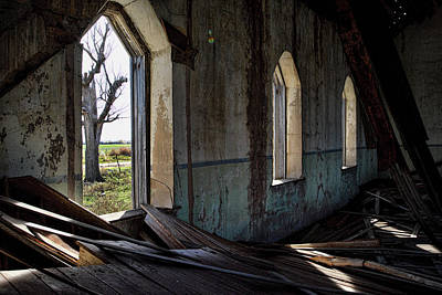 Photograph - Abandoned Church #2 by Ron Weathers