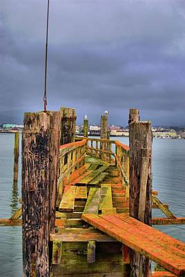 Photograph - Abandoned Dock by Debra Herman