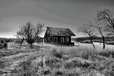 Photograph - Abandoned Homestead by Debra Herman