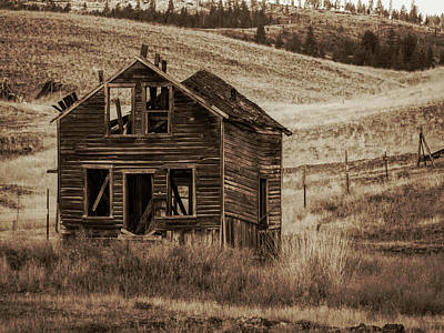 Photograph - Abandoned Montana #1 by David Heilman