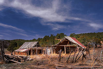 Photograph - Abandoned Ranch by Robert FERD Frank