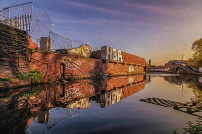 Photograph - Abandoned Reflection by Chris Fletcher