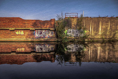 Photograph - Abandoned Reflection No 2 by Chris Fletcher