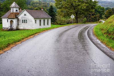 Photograph - Abandoned School by Thomas R Fletcher