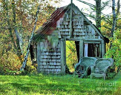 Photograph - Abandoned Shack by Debbie Stahre