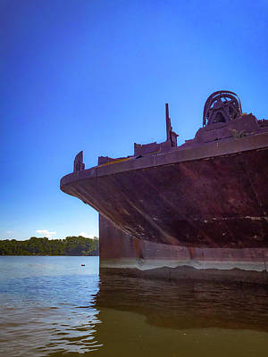 Photograph - Abandoned Ship by Lora J Wilson