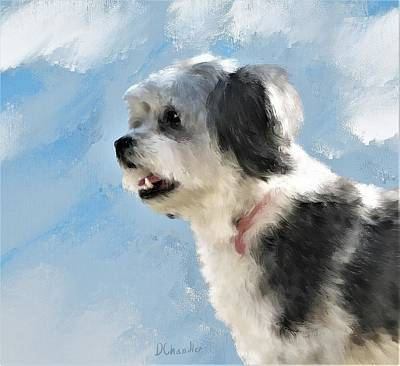 Painting - Abby 1 by Diane Chandler