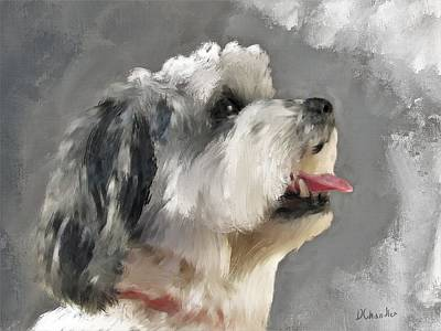 Painting - Abby 2 by Diane Chandler