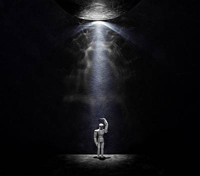 Photograph - Abduction by Mark Fuller