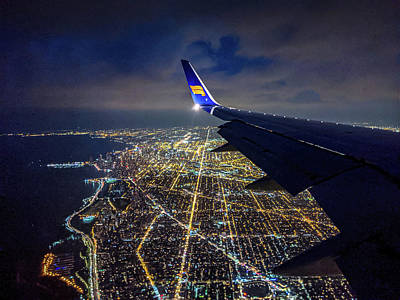 Photograph - Above Chicago by Randy Scherkenbach