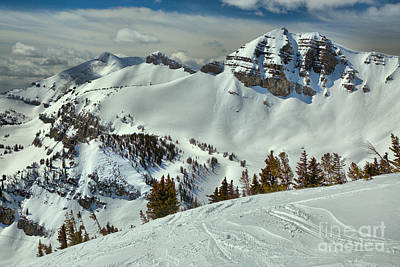Photograph - Above Rendezvous Bowl by Adam Jewell