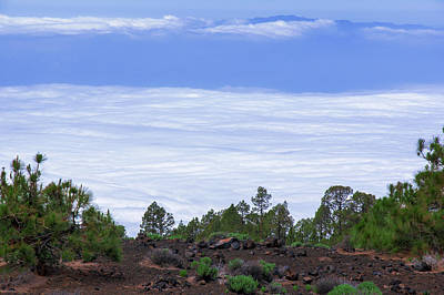 Photograph - Above The Clouds In The Teide National Park by Sun Travels